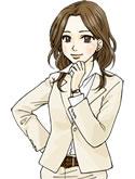 先輩:梅田陽子の立ち姿